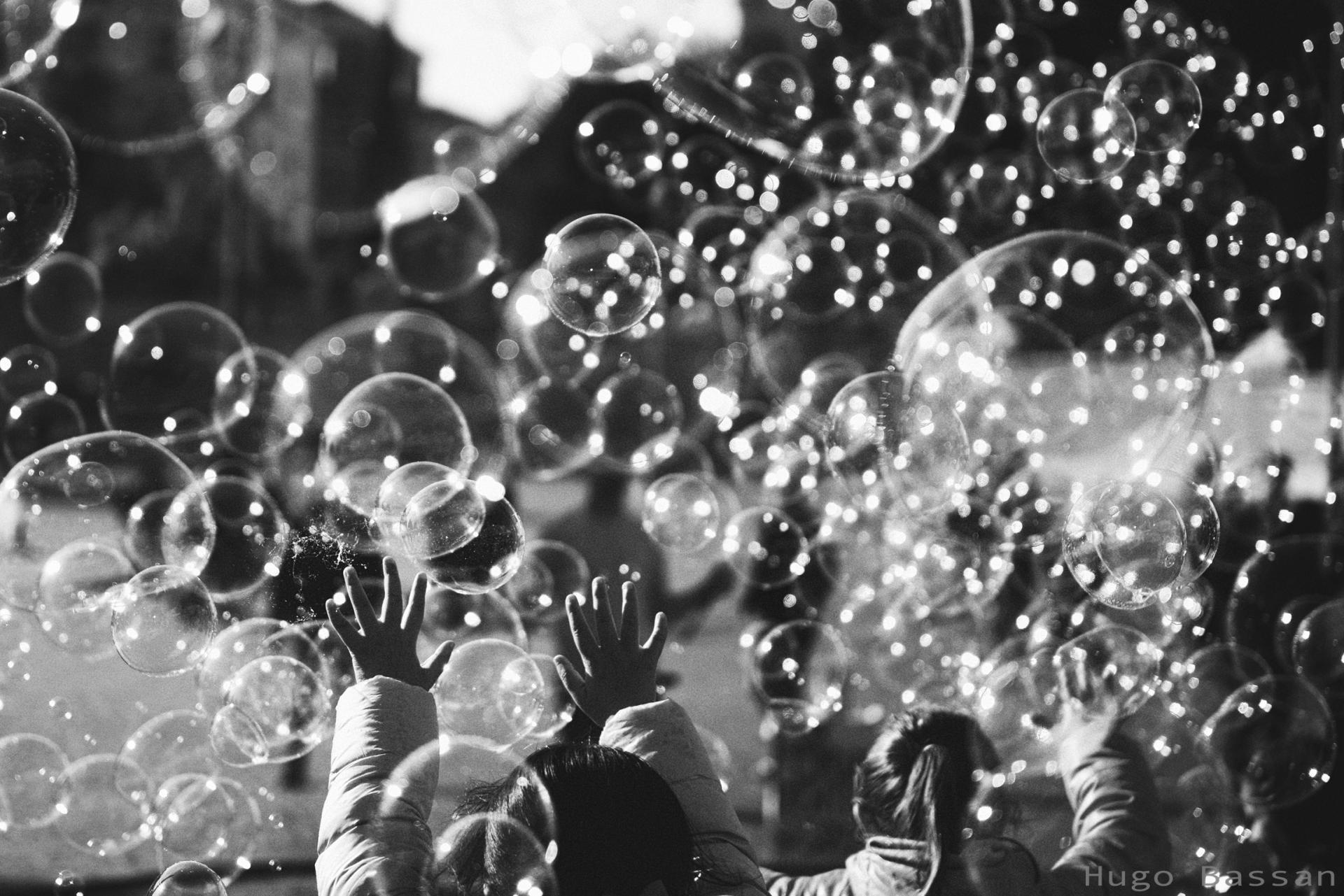 Enfants et bulles