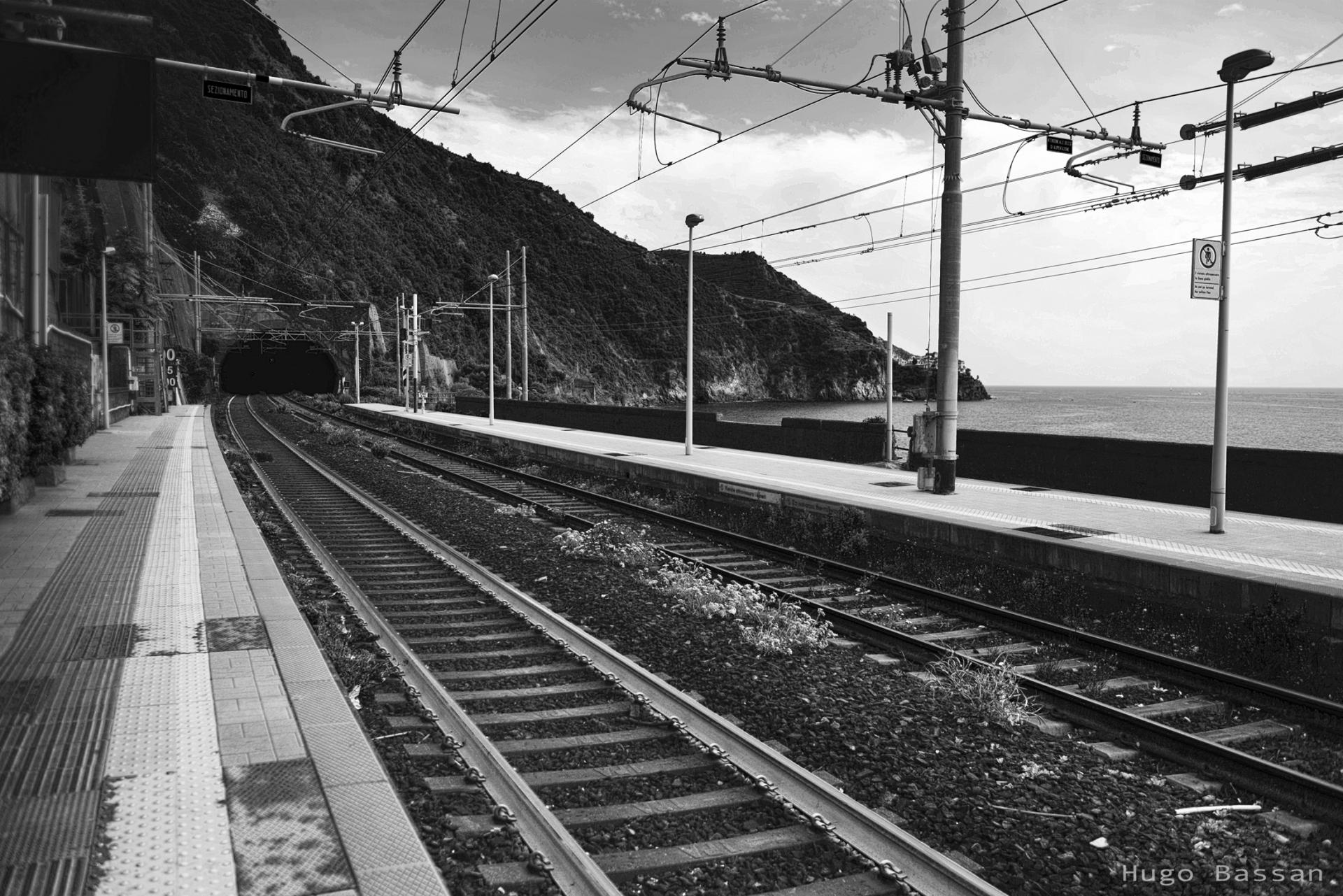 Gare de Corniglia en Italy