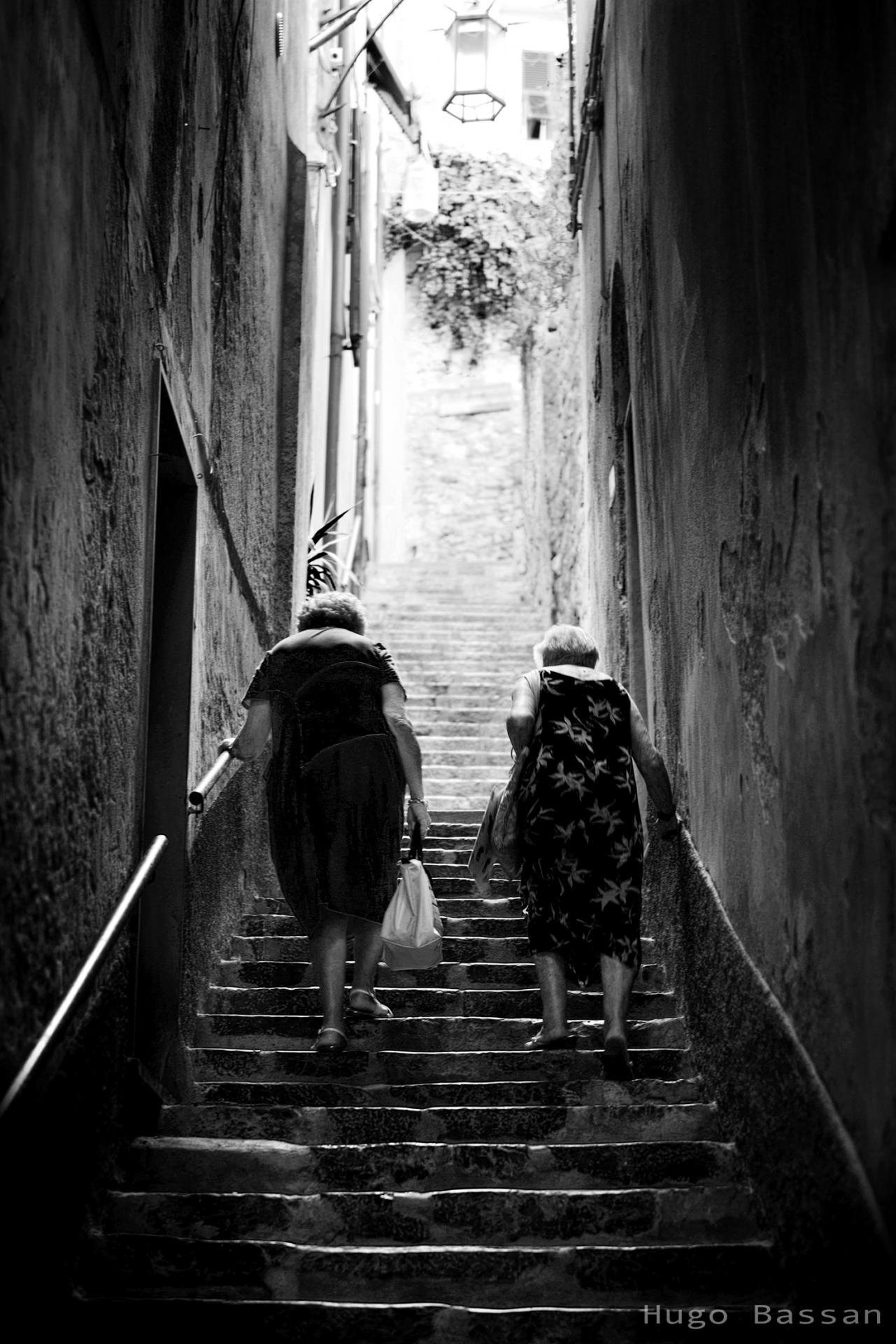 Grand-mères à Portovenere