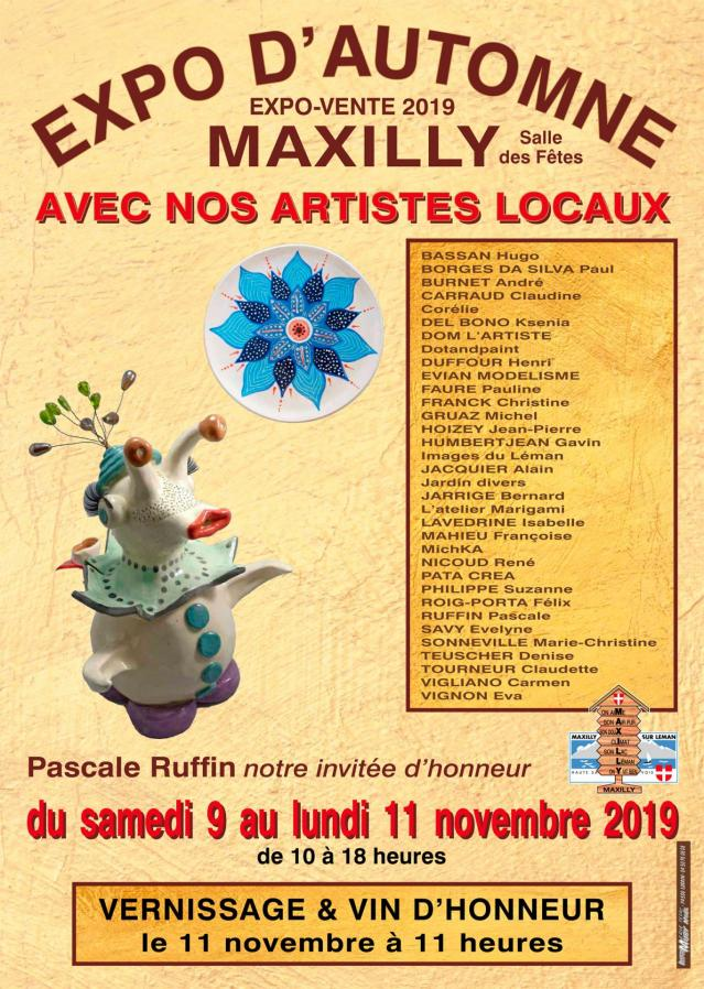 Maxilly expo d'automne