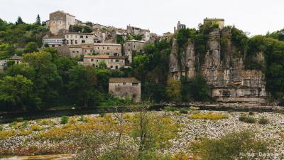 Village de Balazuc en Ardèche
