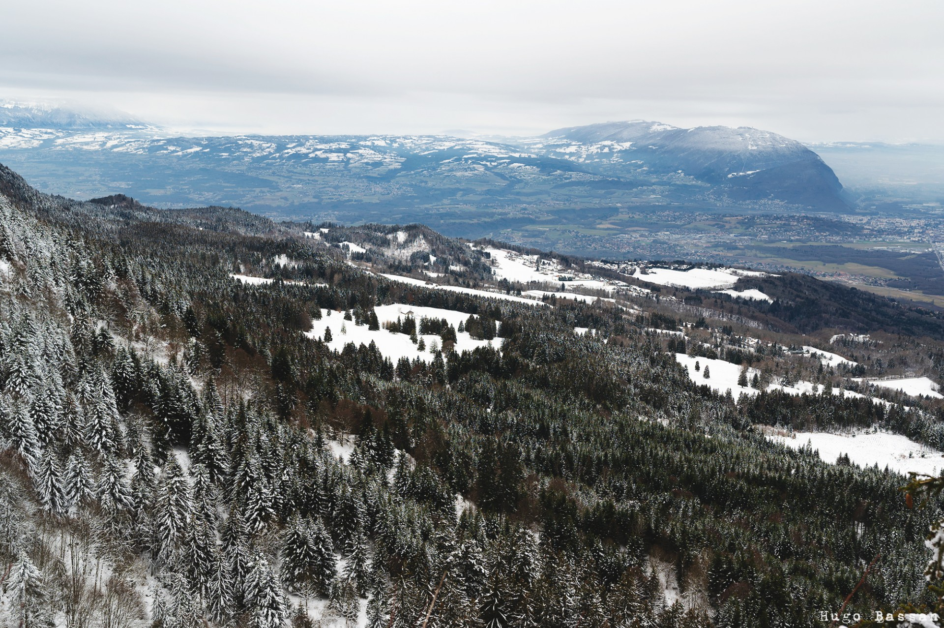 View from the top of the mountain