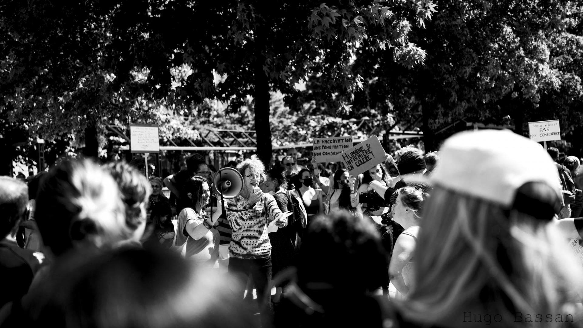 Manifestation Anti Pass Sanitaire