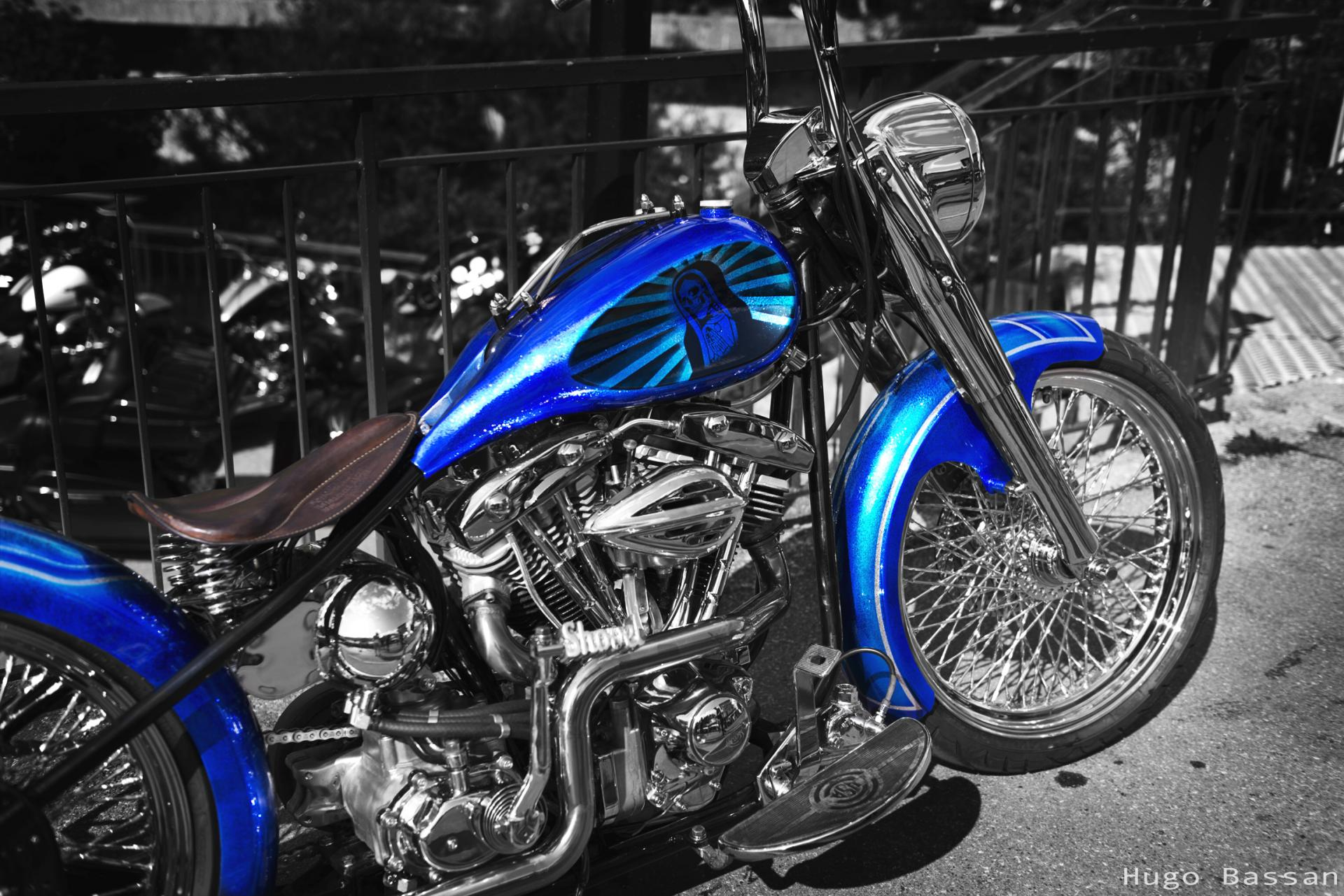 Bike At the Morzine Harley Days 2019
