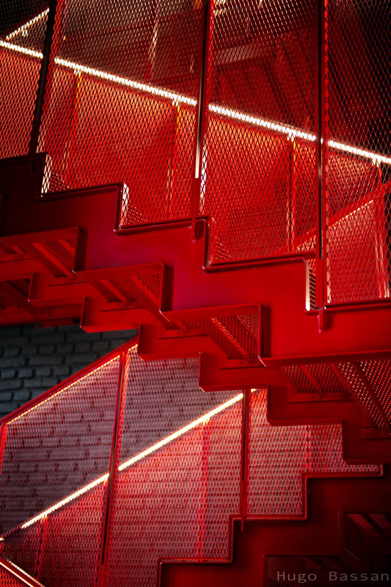 Escalier Ray-Ban Milano